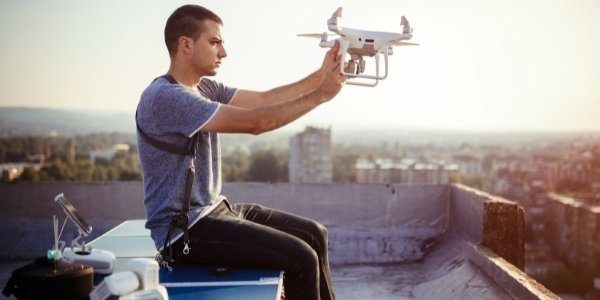 Are drones connected to the internet connection