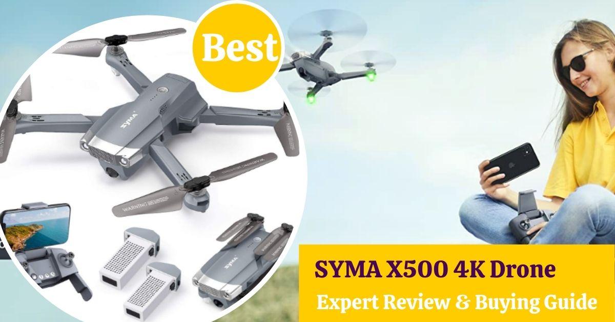 SYMA X500 4K Drone Review