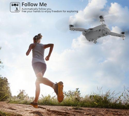 Follow me mode: