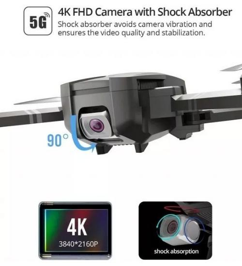 Holy Stone HS720e Review 4K EIS Camera