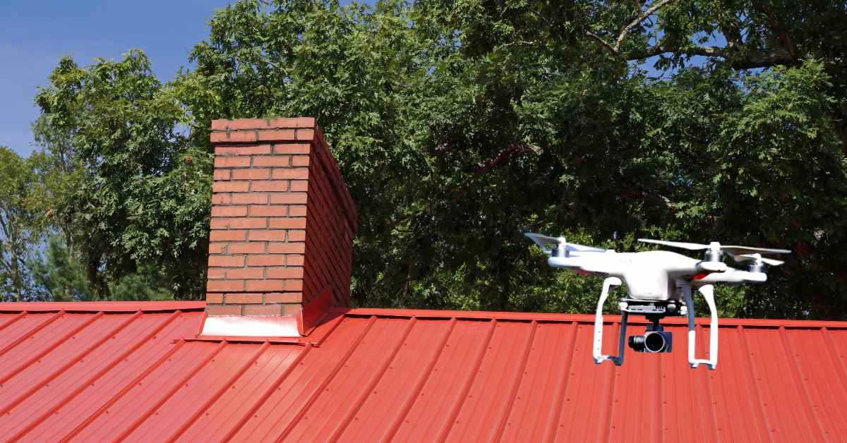 How to Do a Roof Inspection With a Drone at Present